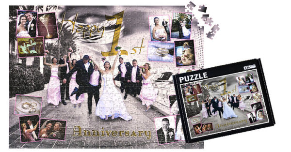 336 Piece Photo Collage Jigsaw Puzzle